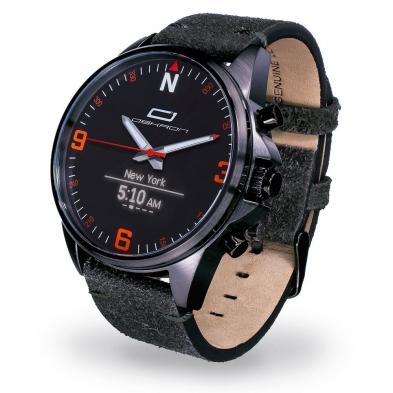 Oskron Gear Smartwatch  007 - anthrazit