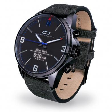Oskron Gear Smartwatch  012 - nachtschwarz