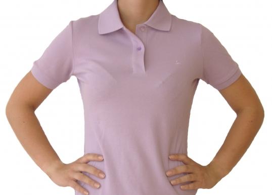 Poloshirt Damen lavendel