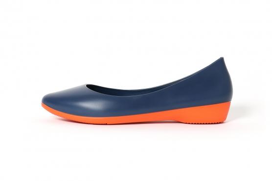 walknrest Ballerina navy blau, Größe: EU 38,5 (250mm) EU 38,5 (250mm)