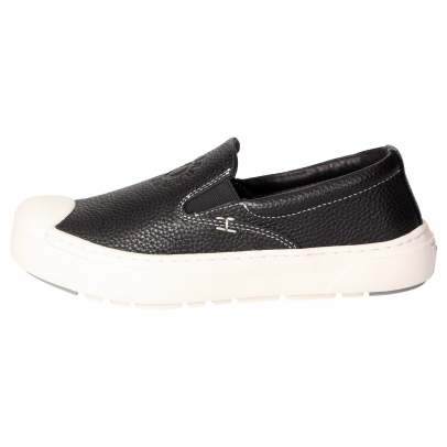 HEYBRID Loafer Premium schwarz texturiert