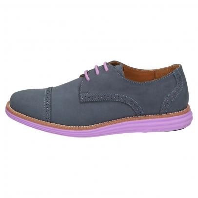 SENSOMO II Damen Schnürschuh blau/lavendel , Größe: 39,0 39,0