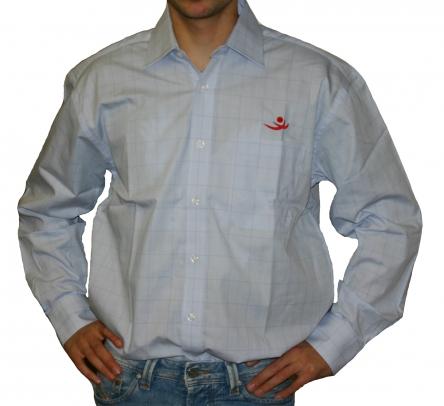 Herrenhemd grosskariert , Größe: M M