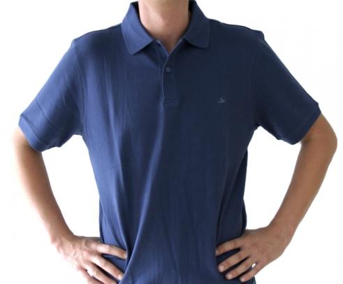 Poloshirt Herren navy , Größe: XL (43/44) XL (43/44)
