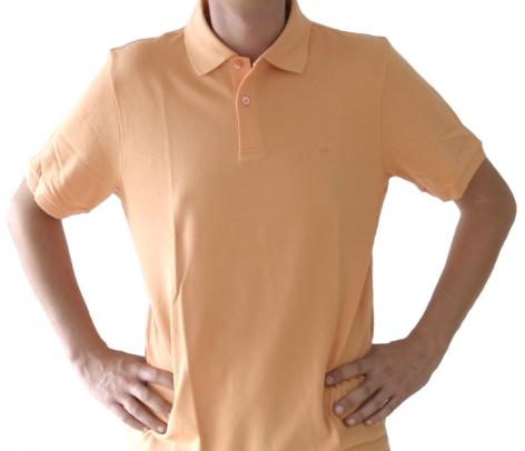Poloshirt Herren apricot , Größe: XL (43/44) XL (43/44)