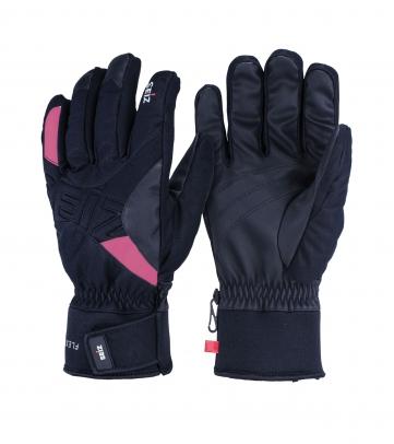 Seiz FLEXIBLE schwarz/pink