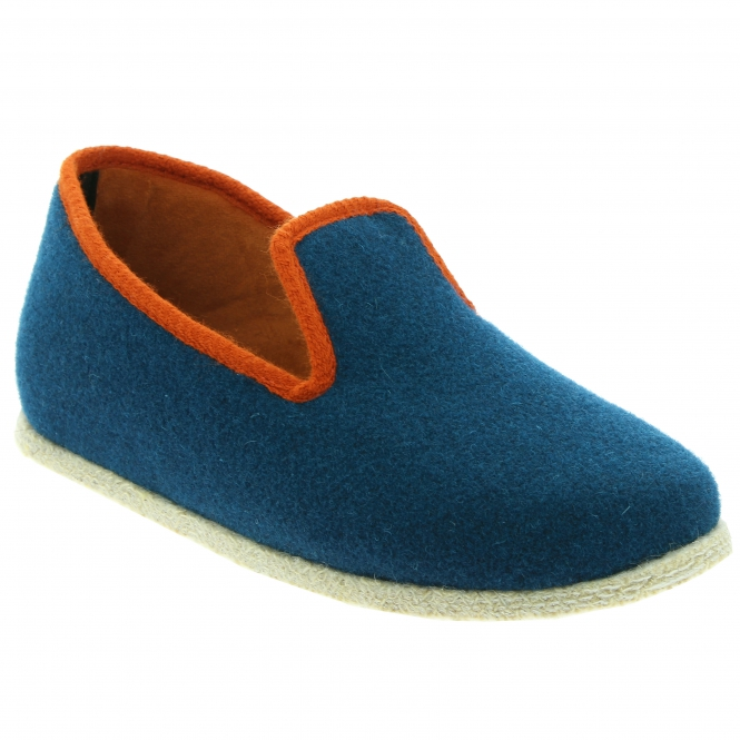 Chausse Mouton Chancenie peacock blue