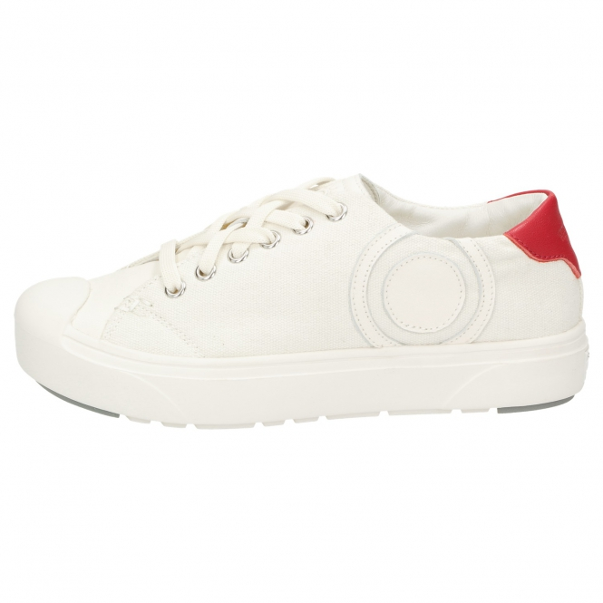 Heybrid Sneaker m. Patch natur