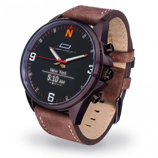 Oskron Gear Smartwatch  015 - braun
