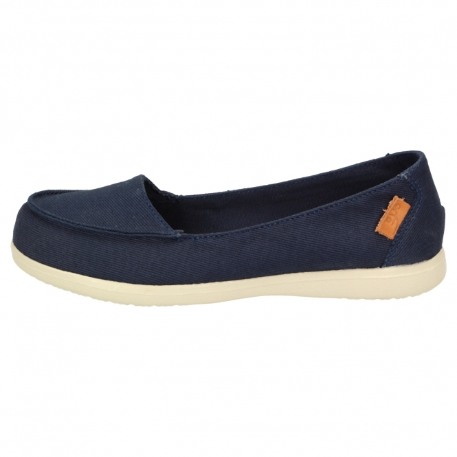 DUX BEACH Damen navy
