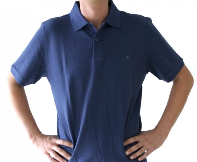 Poloshirt Herren navy